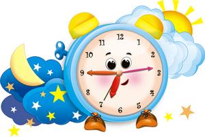 Картинки будильник режим дня