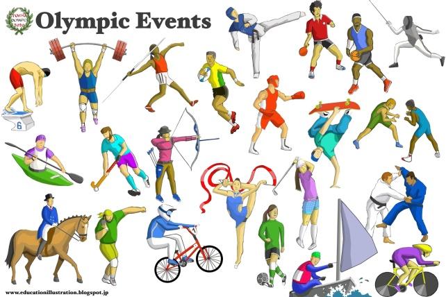 Виды олимпийских игр в картинках