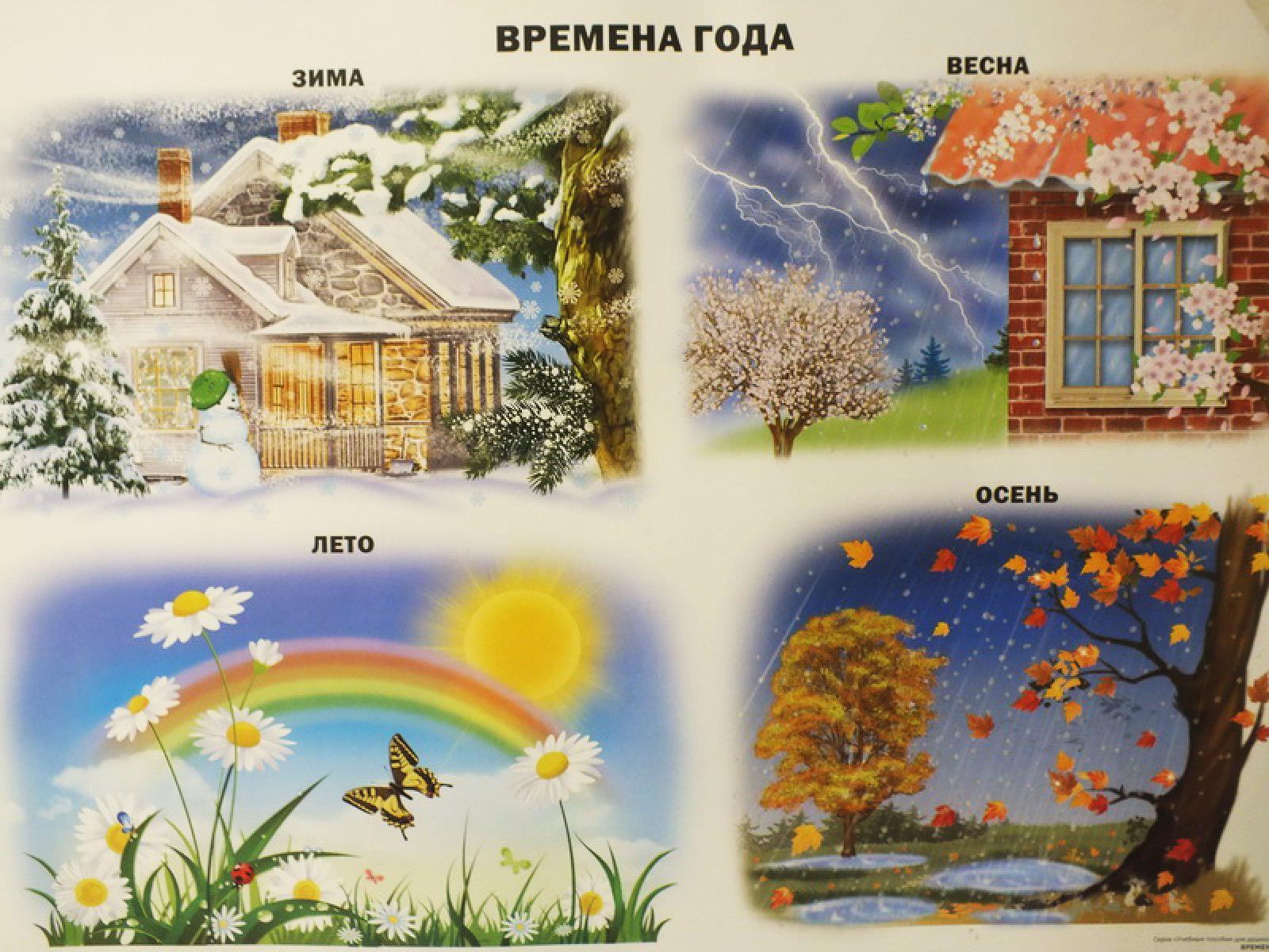 Картинки с надписями осень зима весна лето, хенд мейд