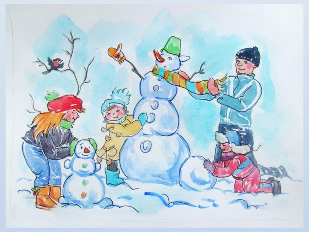 фото картинки лепим снеговика для проекта этому рецепту, вам