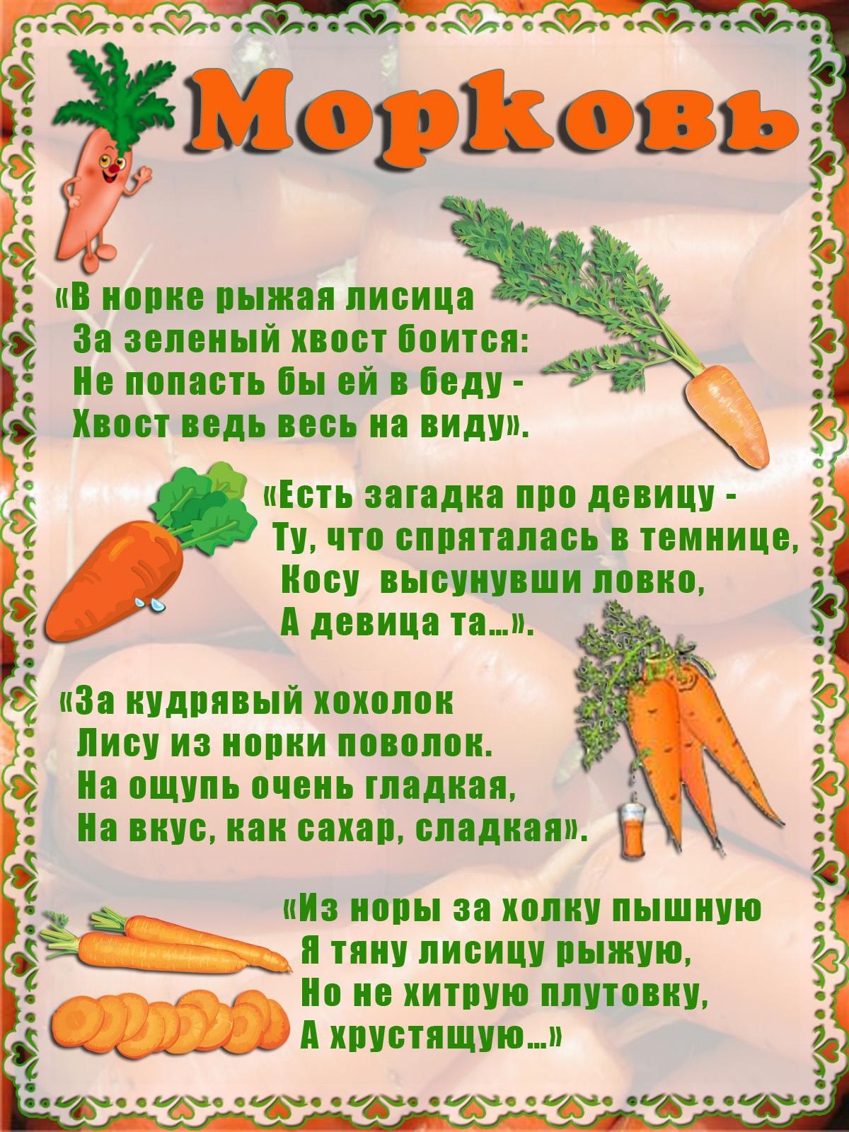 пословицы про овощи с картинками играют важнейшую