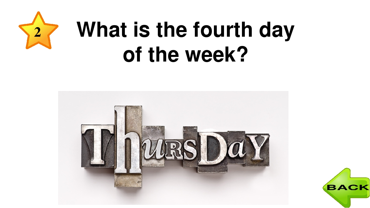5 What date is it today? August, 15th Today is the fifteenth of August.