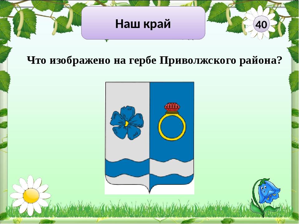 Наш край 50 Что изображено на гербе Ивановской области?