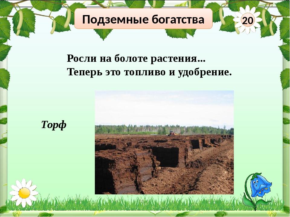 Подземные богатства 40 Узнай знак полезного ископаемого Глина