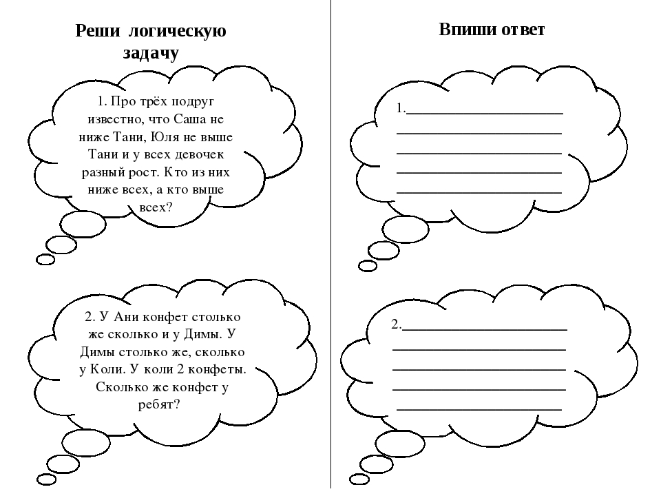 Впиши ответ Реши логическую задачу 1. Про трёх подруг известно, что Саша не н...