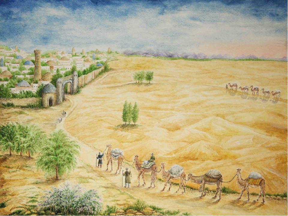 пустынный город рисунок строительства домов районе