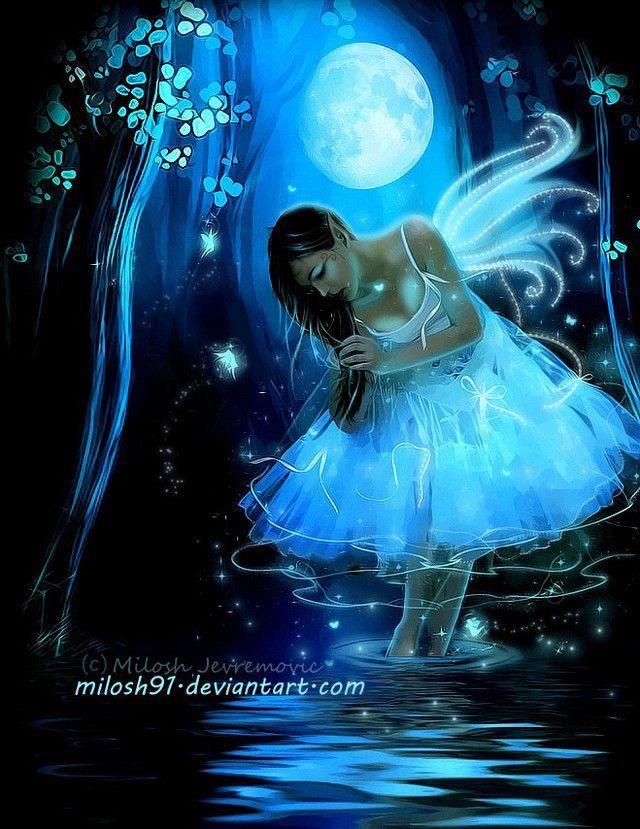 картинки фей ночей красивые тех