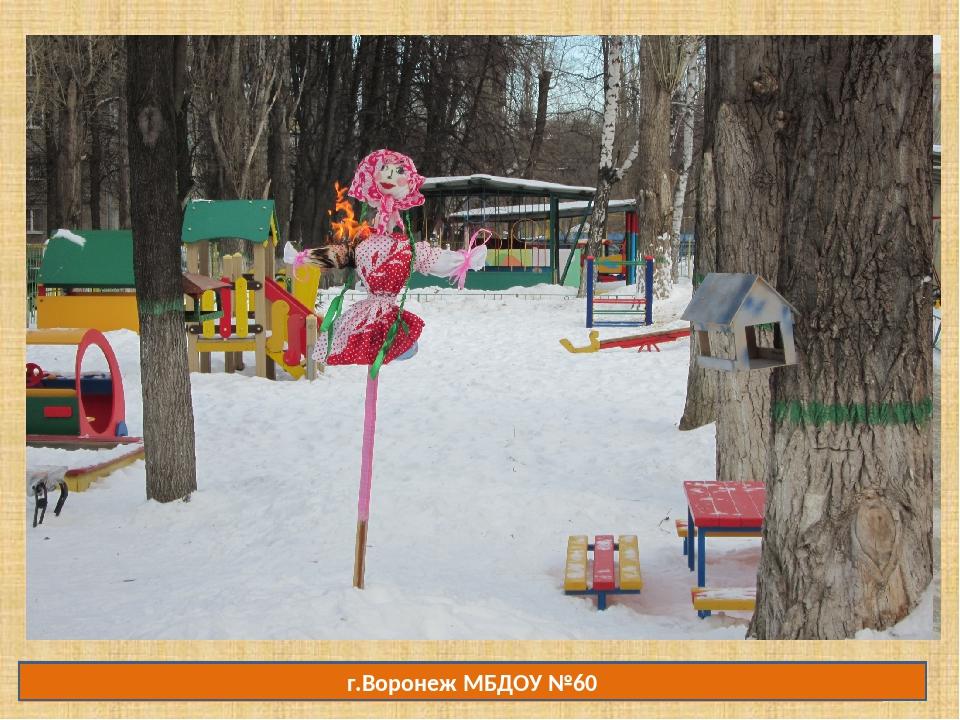 г.Воронеж МБДОУ №60 Манеева Наталья Валерьевна, ГБДОУ №18