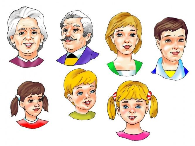 Разрезные картинки по теме семья семьи цели