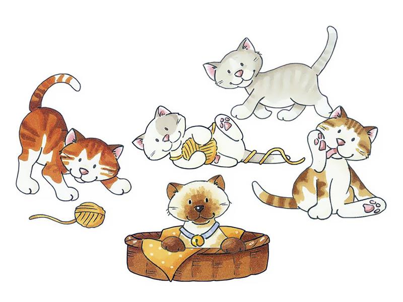 Михалков котята картинки
