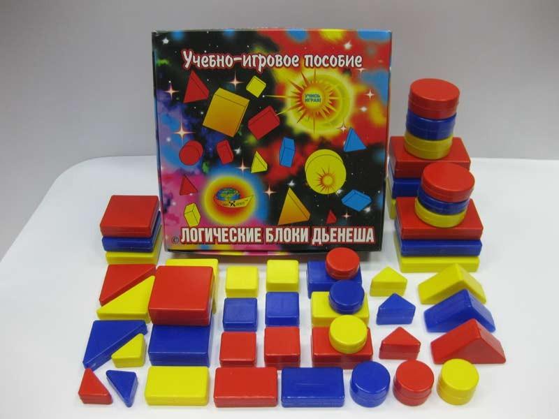 Кубики дьенеша и палочки кюизенера
