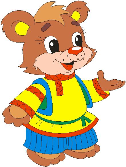 Сказочный медведь картинка