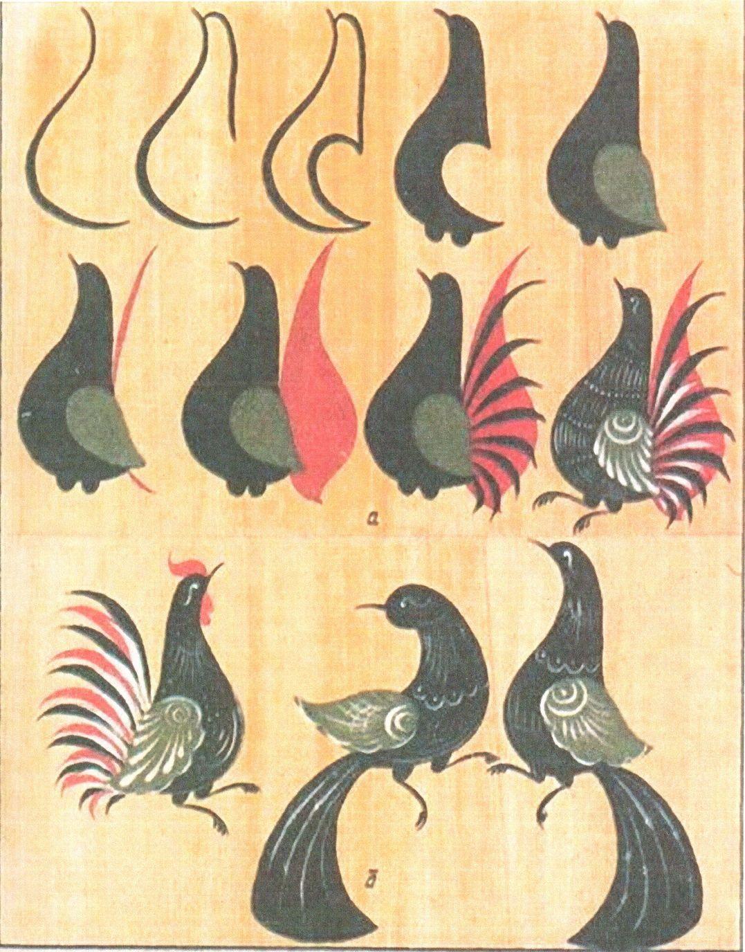 Двусторонние картинки птиц сексе