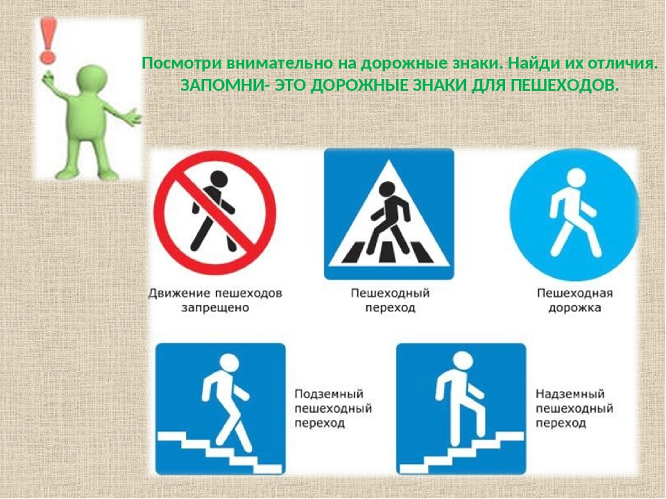 Пешеходные знаки дорожного движения картинки с пояснениями испытывали