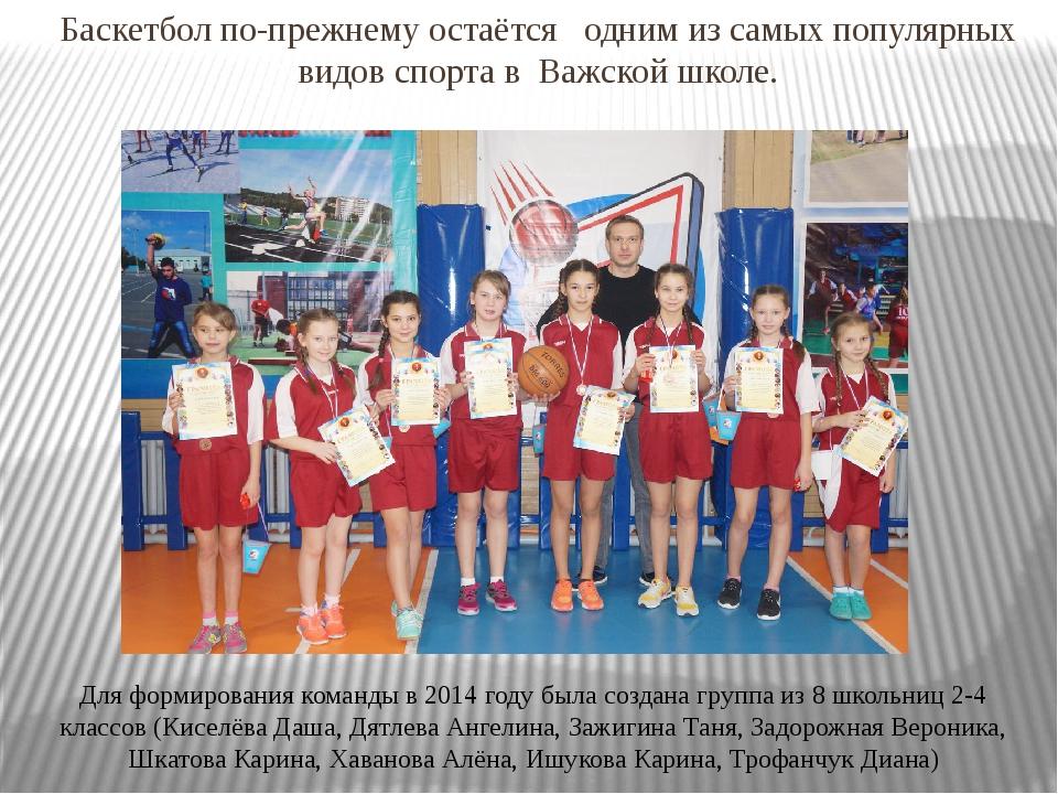 Баскетбол по-прежнему остаётся одним из самых популярных видов спорта в Важск...