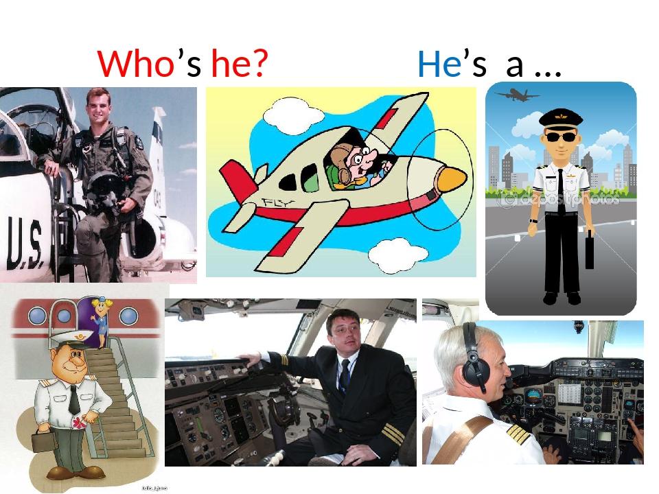 Who's he? He's a …
