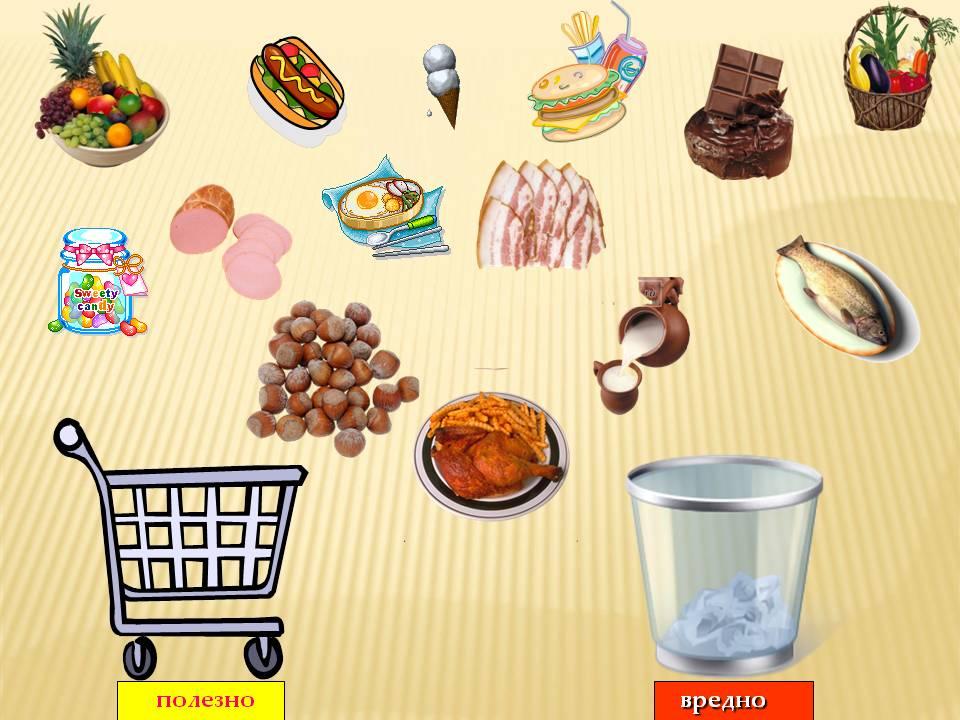 руководство картинка полезная и вредная еда для доу кирове