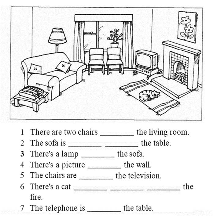 картинка квартиры для описания на английском