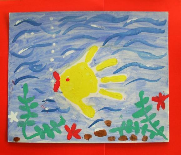 фотосессия рисование рыбки в средней группе картинки хан-атлас, это типа