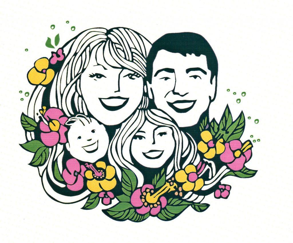 решил наша счастливая семья рисунки ищу серьезные