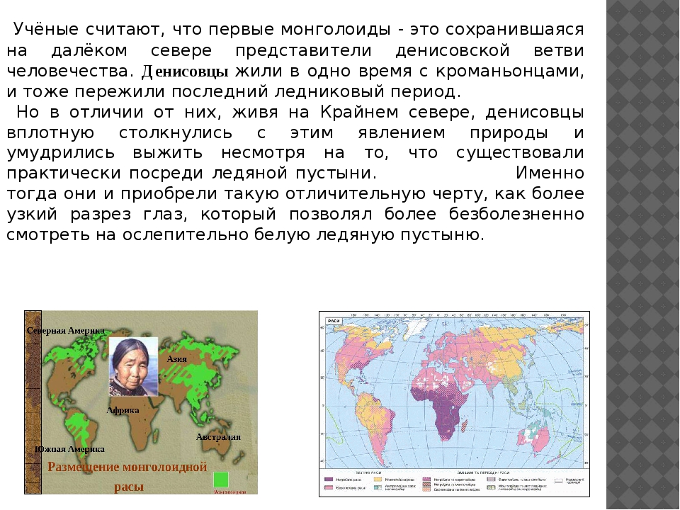 Учёные считают, что первые монголоиды - это сохранившаяся на далёком севере...