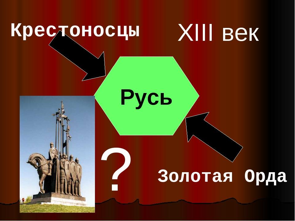Русь Крестоносцы Золотая Орда XIII век ?