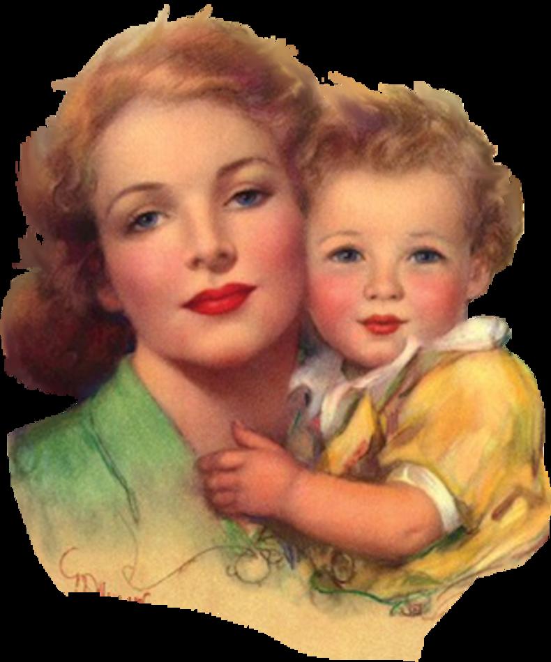 Новогодние детьми, открытки для малышей и мамой