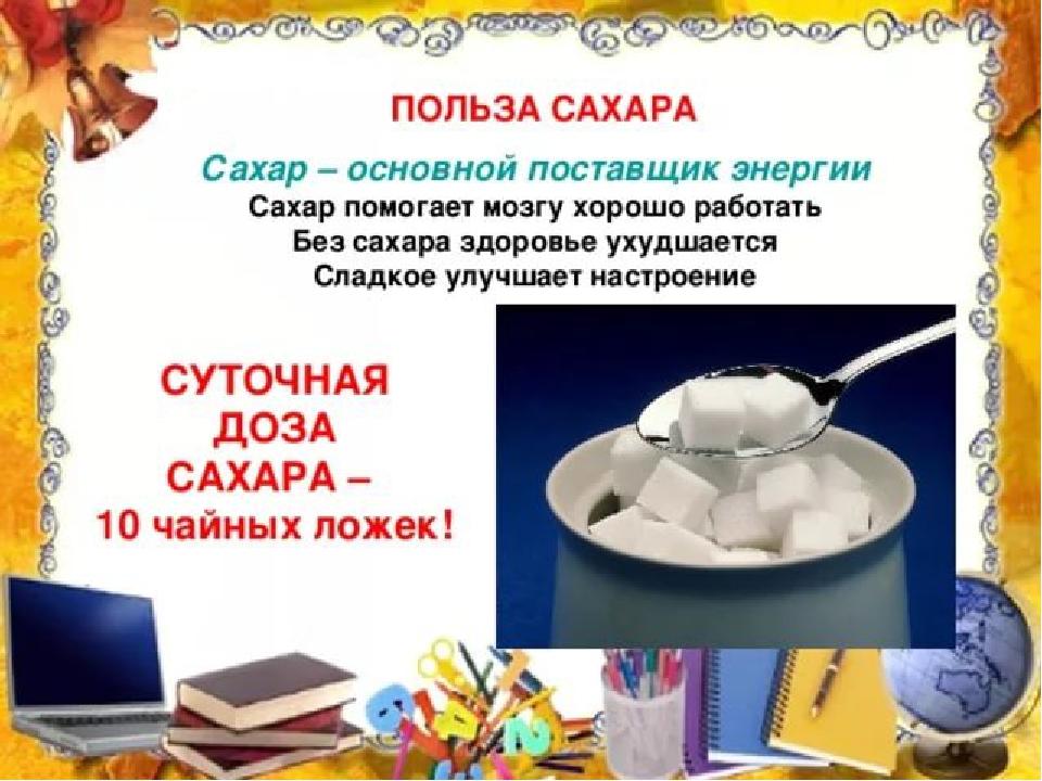 Картинки на тему сахар вред или польза