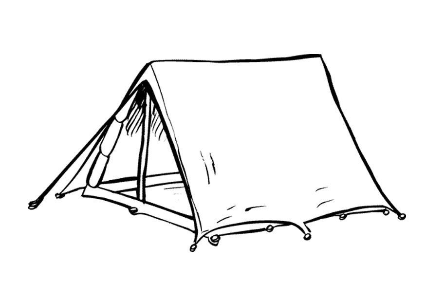 Палатка картинки для детей нарисованные