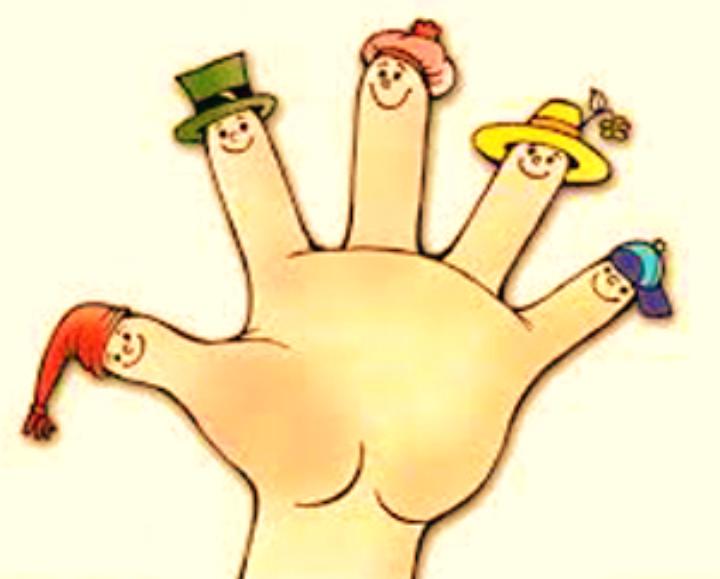 Пальчики картинки для детей на прозрачном фоне