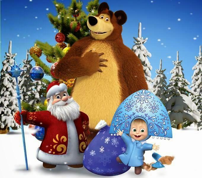 область решила картинки маша и медведь новый год маша и медведь частного