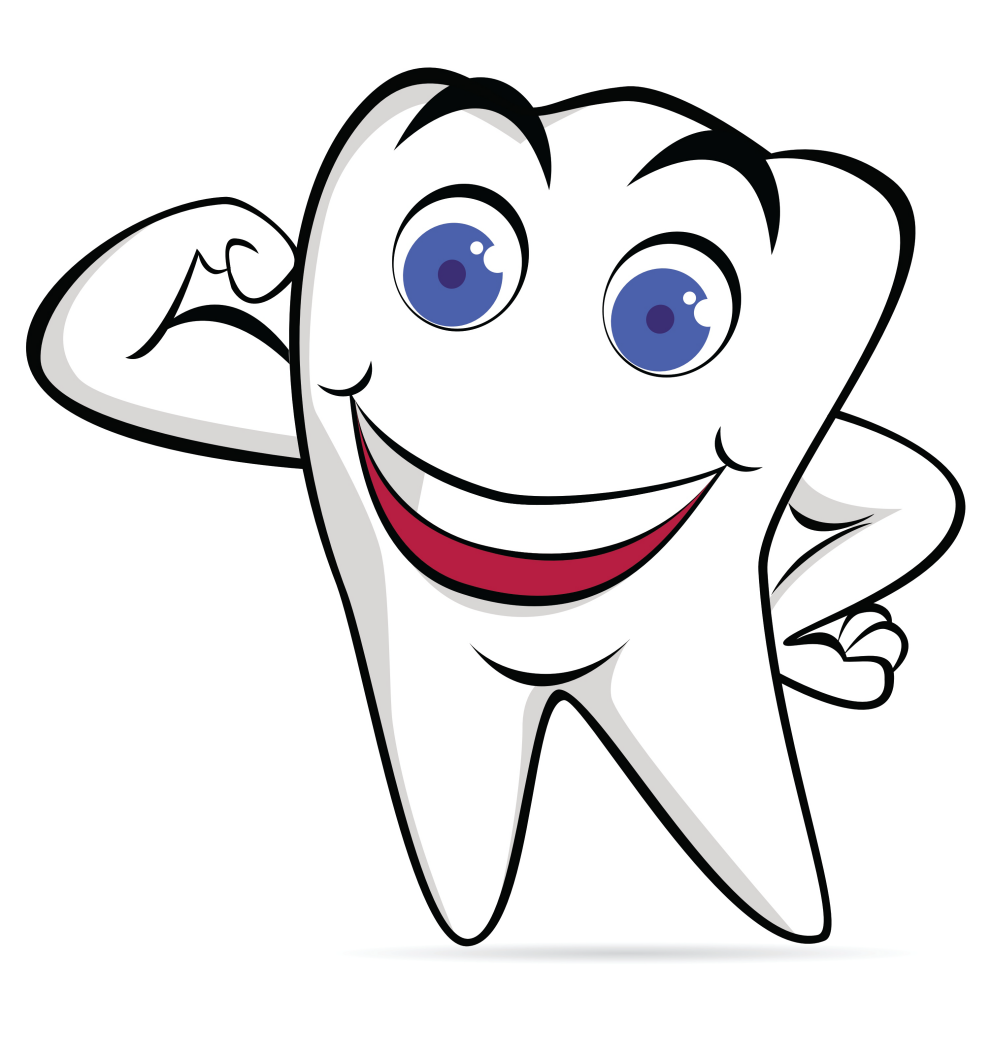 Про, картинка зубов прикольная