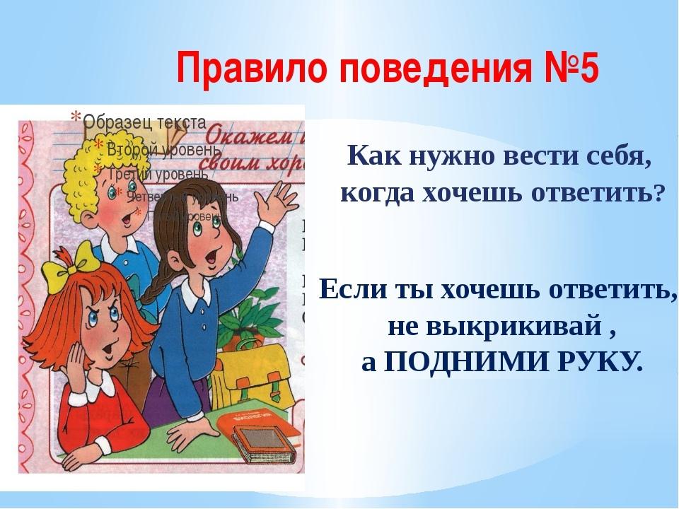 картинки для темы правила поведения