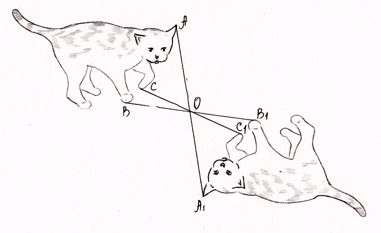 Картинки для симметрии относительно точки