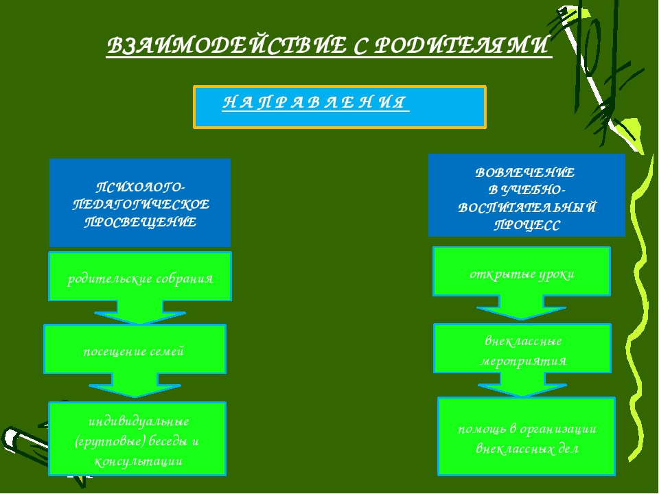ВОВЛЕЧЕНИЕ В УЧЕБНО-ВОСПИТАТЕЛЬНЫЙ ПРОЦЕСС ПСИХОЛОГО-ПЕДАГОГИЧЕСКОЕ ПРОСВЕЩЕ...