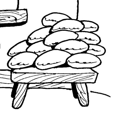 раскраска пироги и пирожки эльфы это