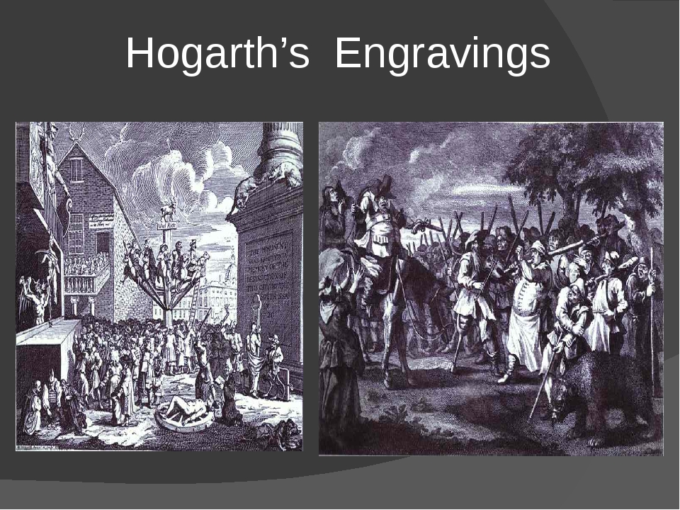 Hogarth's Engravings