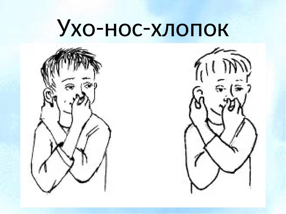 Нос ухо картинки