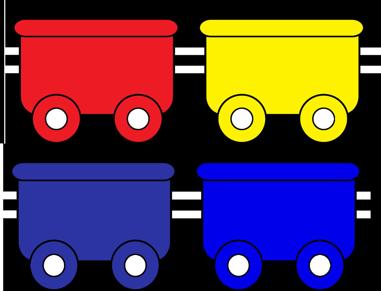 красный вагончик картинки