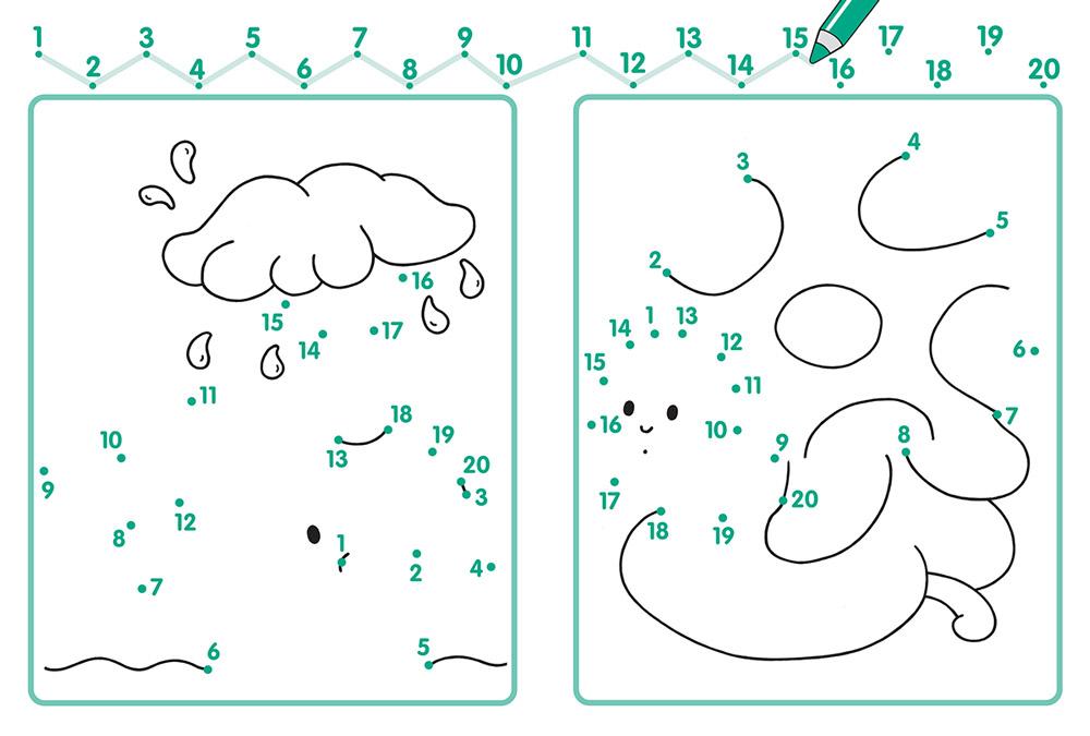 рисование по точкам с цифрами картинки примет