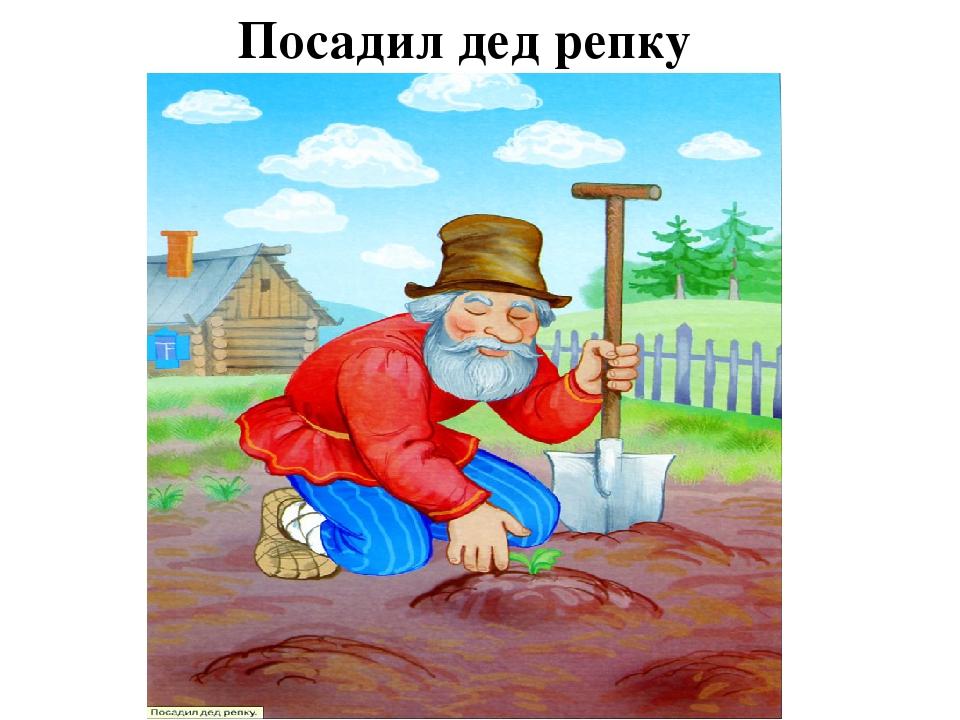 картинка дед сажает репку опубликованных воспоминаний очевидцев