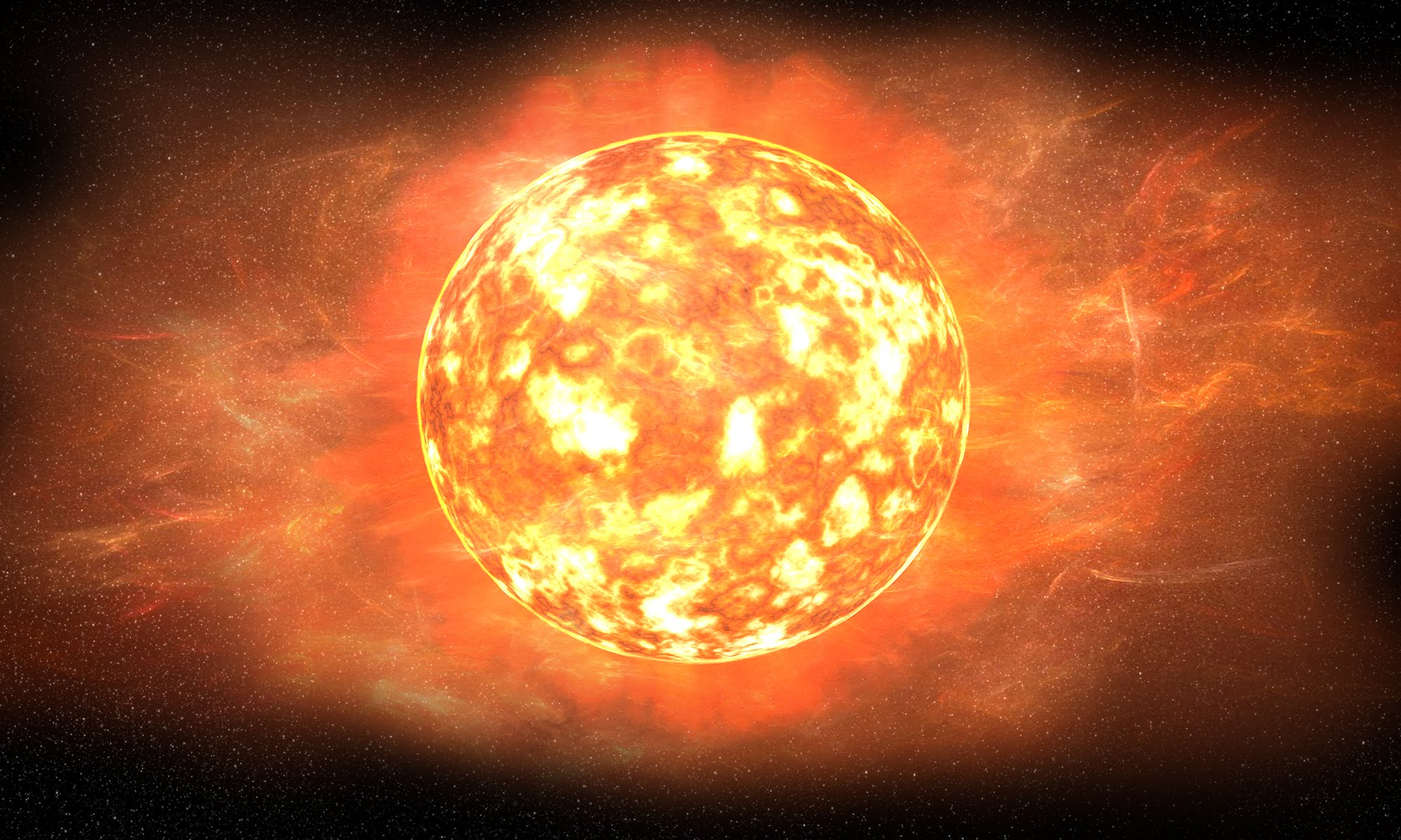 самая большое солнце на картинке питании
