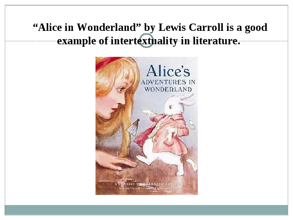 literary analysis of the book alice in wonderland by lewis carrol A look at three very different lives: lewis carroll's, alice liddell's and that of the literary creation they both had a part in.