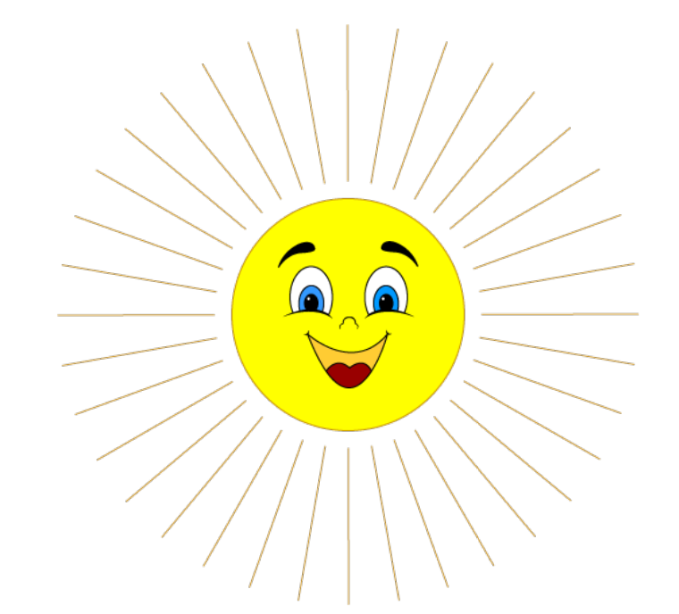 Картинка солнышко без лучиков, картинки красивые новым