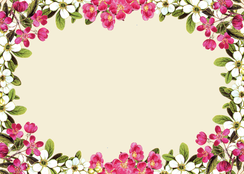 Юбилеем девушке, картинки в рамке цветы