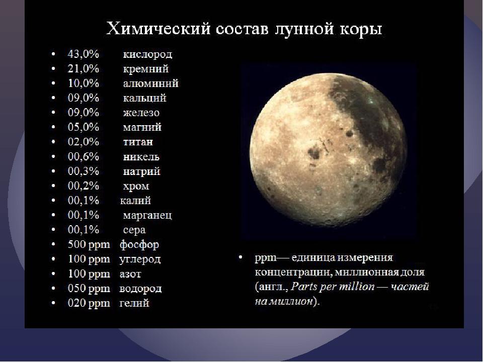 Химический состав похож на Земной