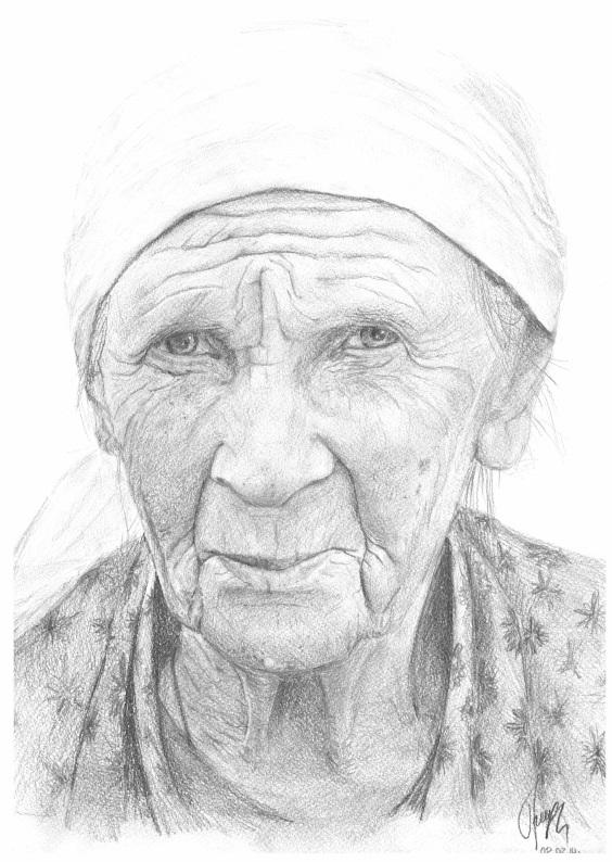 Правильно отправить, картинки бабушке нарисовать
