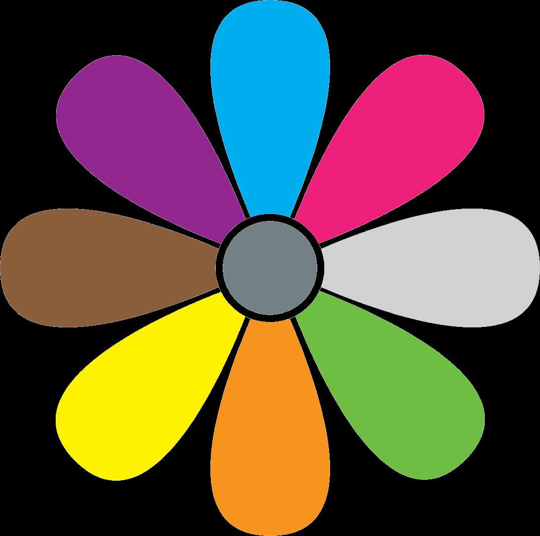 Ромашка картинка цветная