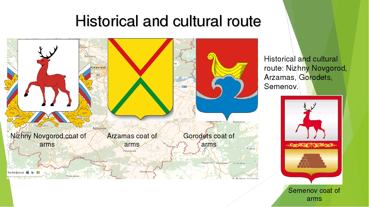 Historical and cultural route Historical and cultural route: Nizhny Novgorod,...