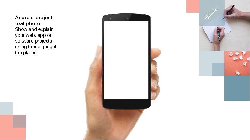 Android project real photo Show and explain your web, app or software project...